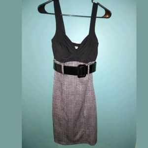 Dresses & Skirts - Speechless Pencil Dress Black/Grey Size Small